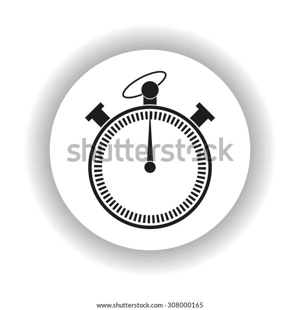stopwatch. icon. vector design