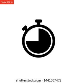 stopwatch icon vector design template