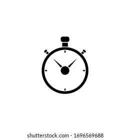 stopwatch icon vector illustration graphic design