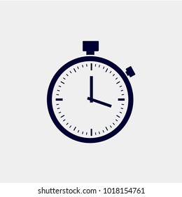 stopwatch icon vector. timer vector icon