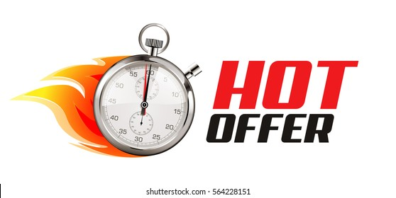 Stopwatch - special, hot, limited time offer