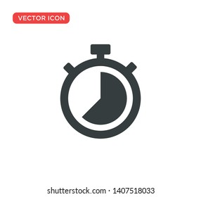 Stopwatch Timer Icon Vector Illustration Design