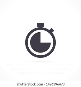 stopwatch vector icon 10 eps , Lorem ipsum Flat design