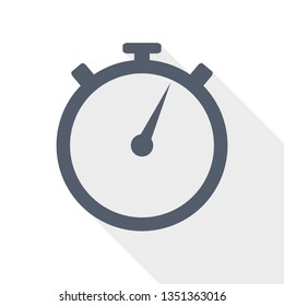 stopwatch, watch, time icon, vector illustration, speed concept sign