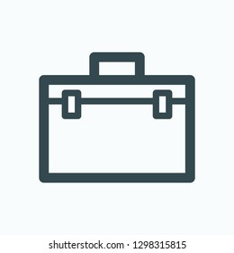 Storage case icon, storage box vector icon