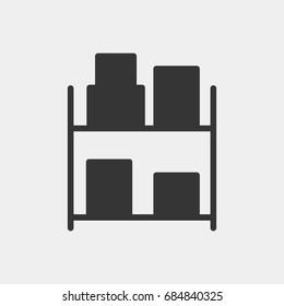 Storage icon illustration isolated vector sign symbol