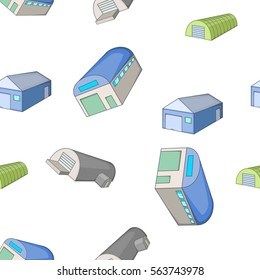Storage pattern. Cartoon illustration of storage vector pattern for web