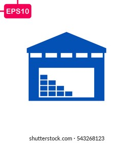 Store building Icon, Vector