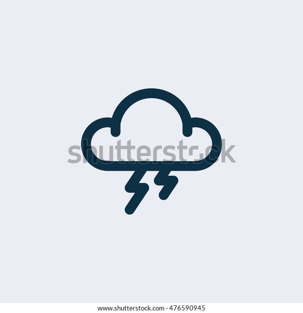 Storm icon vector,Vector illustration.
