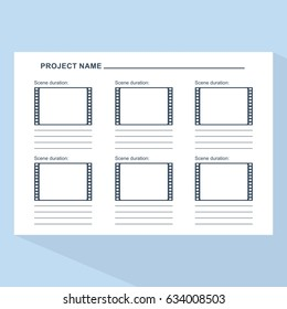storyboard images stock photos vectors 10 off shutterstock