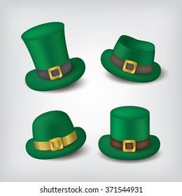 St.patrick's hat icons