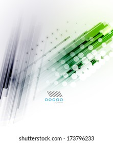 Straight lines - hi-tech futuristic modern background
