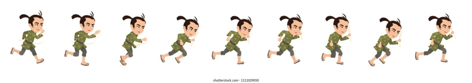 The Straw Headman Running