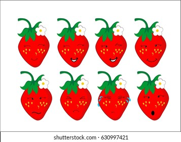Strawberry Emoji Images Stock Photos Vectors Shutterstock The emoji images may be different on each platform such as facebook, whatsapp, instagram. https www shutterstock com image vector strawberry flower emoji emoticon cartoon character 630997421