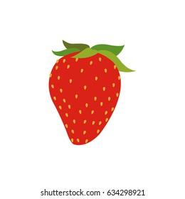 strawberry fruit fresh food nutrition