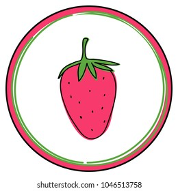 520ad02aa Strawberry Clipart Images, Stock Photos & Vectors | Shutterstock