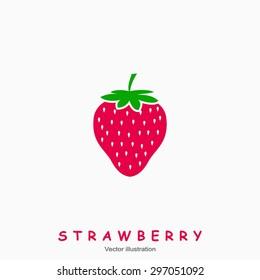 Strawberry. Vector illustration