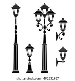 street lamps collection,lantern