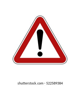Street Sign : Be Careful
