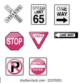 Street Signs - Glossy