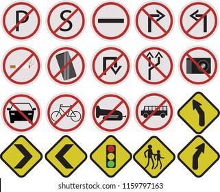 street signs logo