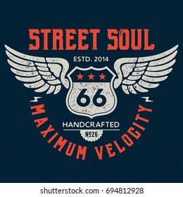 Street Soul - Tee Design For Print