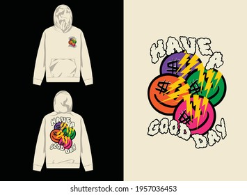 Streetwear Graphic Design  Smile have a good day