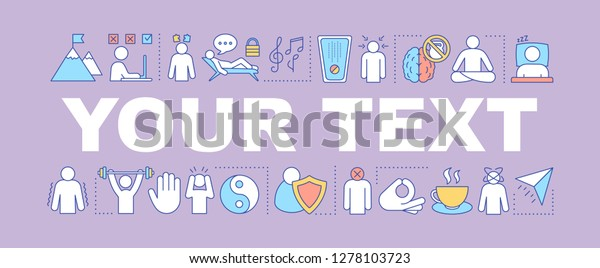 Stress Tolerance Word Concepts Banner Mental Stock Vector Royalty Free 1278103723