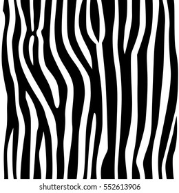 stripe animals jungle texture zebra vector black and white repeated seamless