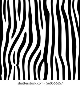 stripe animals jungle texture zebra vector black and white repeated seamless fur print