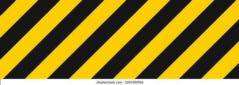 Stripe line background vector illustration. Diagonal yellow and black stripe lines pattern. Abstract geometric striped texture. Geometric style. Textile design texture. EPS 10