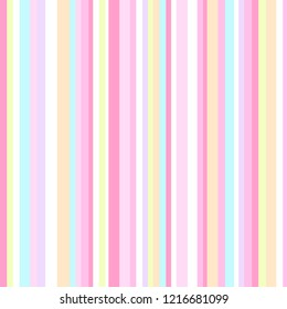 Stripe pattern. Colored background. Seamless abstract texture with many lines. Geometric colorful wallpaper with stripes. Print for flyers, shirts and textiles. Pretty backdrop. Doodle for design