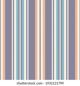 Stripe pattern seamless multicolored herringbone design for spring summer autumn winter dress, skirt, shirt, trousers, pyjamas, other modern fashion or home textile print. Textured background.