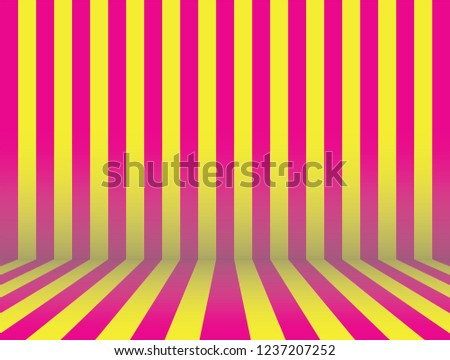 stripe room lollipop candy pink yellow stock vector royalty free