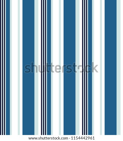 bdecd1d7 Stripe seamless pattern with blue tone colors and white vertical parallel  stripes.Vector abstract background