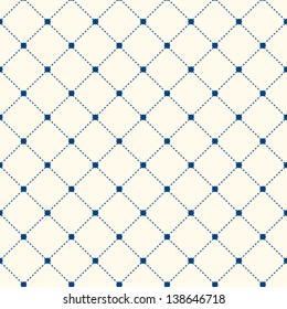 Stripe Seamless Pattern with Rhombus Structure. Vector Background or Texture