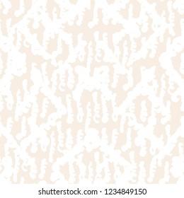 Stripe texture pattern. Ivory white japanese watercolor seamless print. Organic shibori vector tie dye background. Japan rustic batik fabric. Traditional modern abstract tile. Psychedelic folk design.