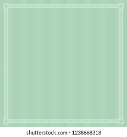 Striped background with star border for poster or greeting card