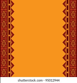 Striped background traditional ethnic motif african style