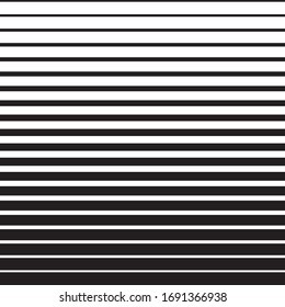 Striped black and white simple background.