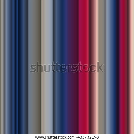 Striped Bright Color Palette Blue Red Stock Vector Royalty Free