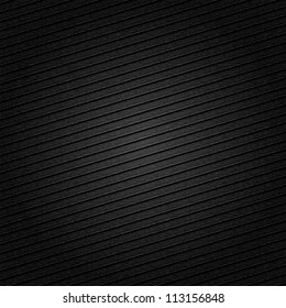 Striped metal surface for dark background, 10eps