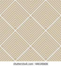 Striped pattern of diamond-shaped, tile, seamless vector background.