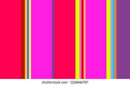 Striped Pattern, Multicolor Background, Vintage, Mexican Sarape