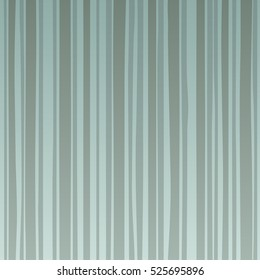 Striped soft-color background with colored vertical stripes (shades of green, grey and blue)) Eps-8 striped background