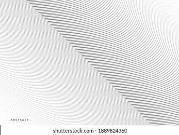 Striped texture, Abstract warped Diagonal Striped Background, wave lines texture. Brand new style for your business design, vector template for your ideas