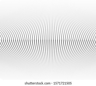Striped vector template for your ideas, monochromatic lines texture. Pattern waved lines texture. Abstract halftone background