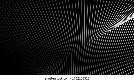 Stripes black and white lines pattern abstract texture background