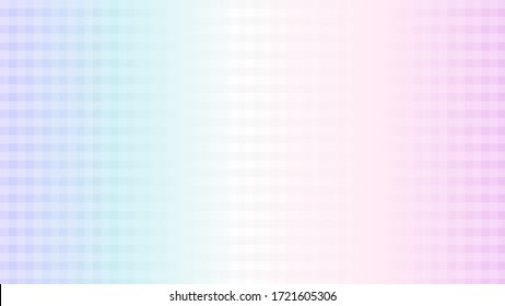 Stripes grid pattern vector backdrop. Soft colorful background with gradient pastel color palette. Cross lines. Illustration for banner, presentation template, wallpaper, text place and social media.