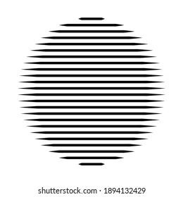 stripes pattern circle, lines pattern circle, abstract circle